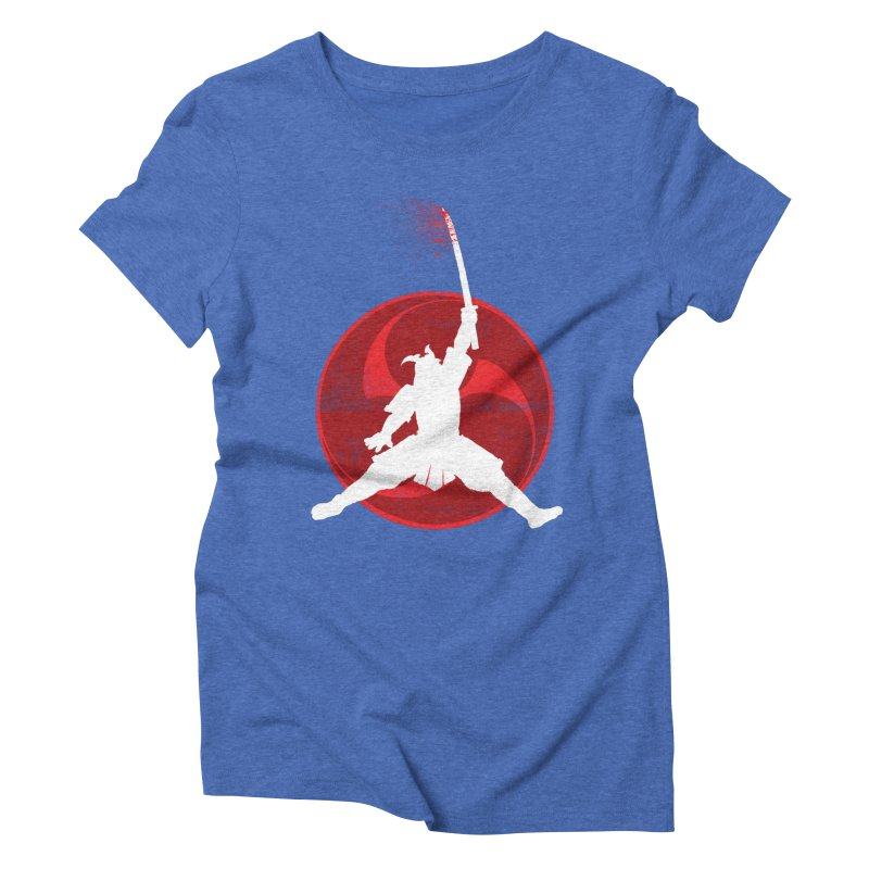 Slamurai 2 Women's Triblend T-Shirt by inbrightestday's Artist Shop