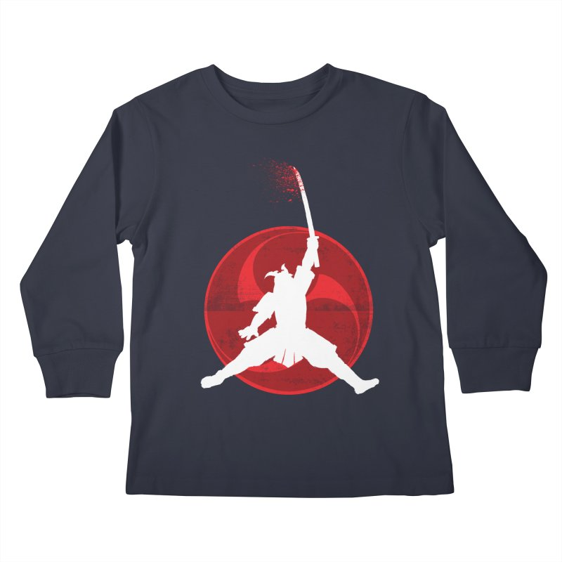 Slamurai 2 Kids Longsleeve T-Shirt by inbrightestday's Artist Shop