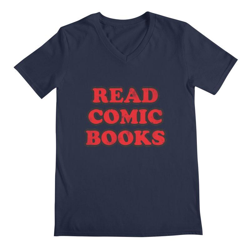 Classic Literature Men's V-Neck by inbrightestday's Artist Shop