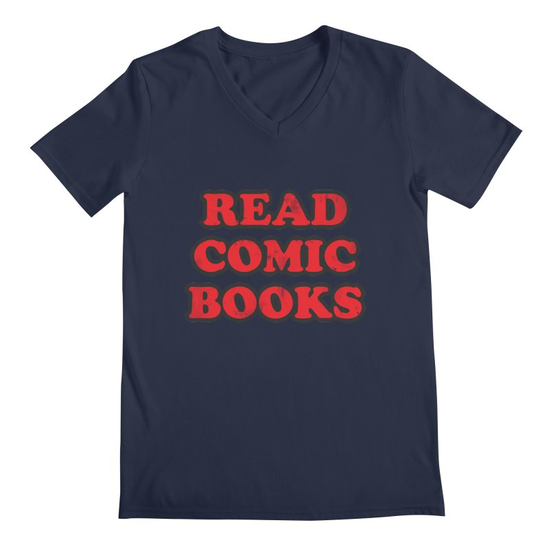Classic Literature Men's V-Neck by inbrightestday's Artist Shop