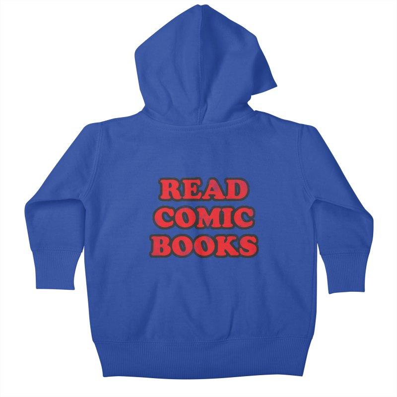 Classic Literature Kids Baby Zip-Up Hoody by inbrightestday's Artist Shop
