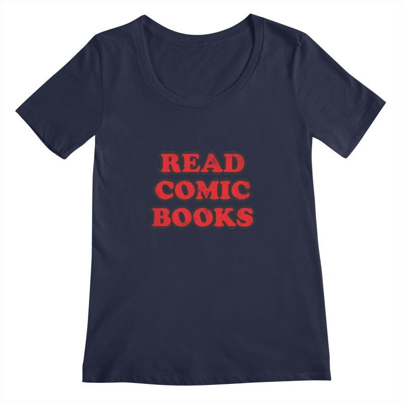 Classic Literature Women's Scoopneck by inbrightestday's Artist Shop