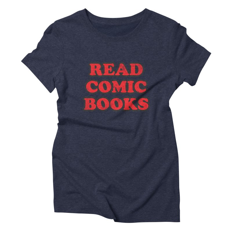 Classic Literature Women's Triblend T-shirt by inbrightestday's Artist Shop