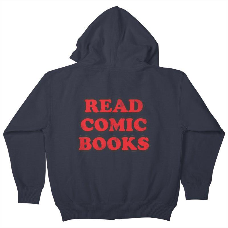 Classic Literature Kids Zip-Up Hoody by inbrightestday's Artist Shop