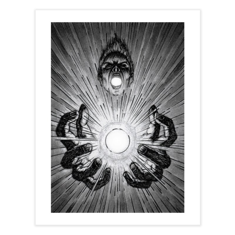Ultimate Power Home Fine Art Print by inbrightestday's Artist Shop