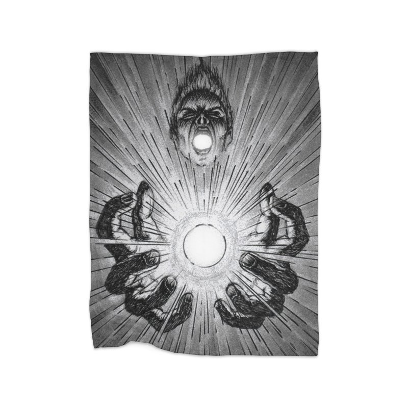 Ultimate Power Home Blanket by inbrightestday's Artist Shop