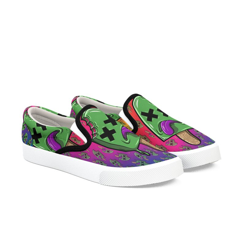 Deadsicle Men's Slip-On Shoes by inbrightestday's Artist Shop