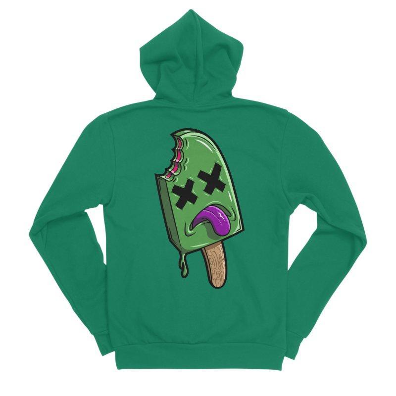 Deadsicle Men's Sponge Fleece Zip-Up Hoody by inbrightestday's Artist Shop