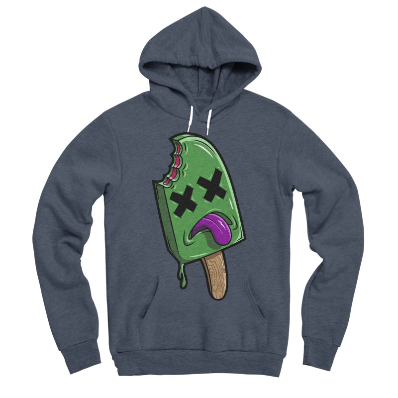 Deadsicle Men's Sponge Fleece Pullover Hoody by inbrightestday's Artist Shop
