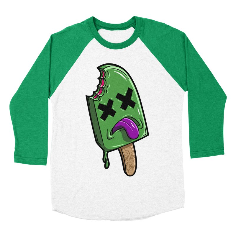 Deadsicle Women's Baseball Triblend T-Shirt by inbrightestday's Artist Shop