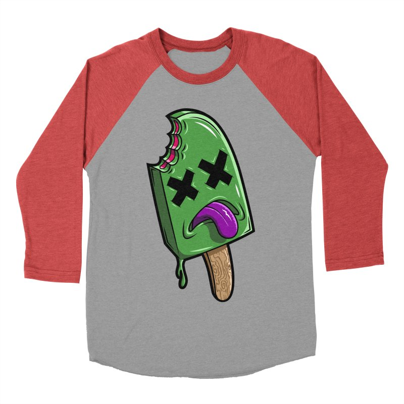 Deadsicle Men's Baseball Triblend T-Shirt by inbrightestday's Artist Shop