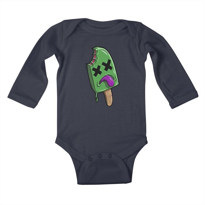 Deadsicle Kids Baby Longsleeve Bodysuit by inbrightestday's Artist Shop