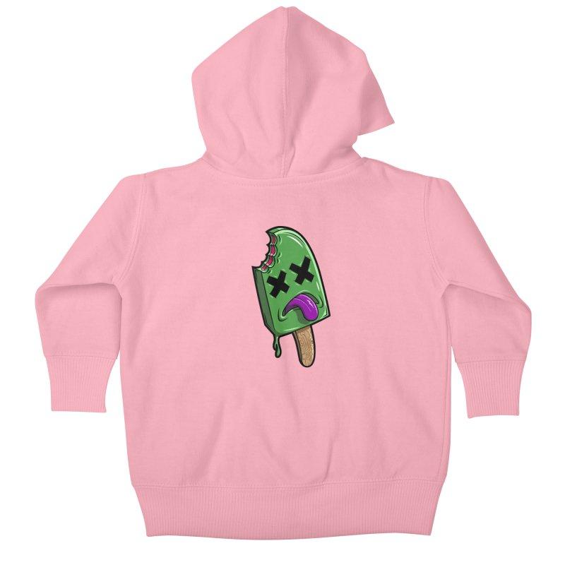 Deadsicle Kids Baby Zip-Up Hoody by inbrightestday's Artist Shop