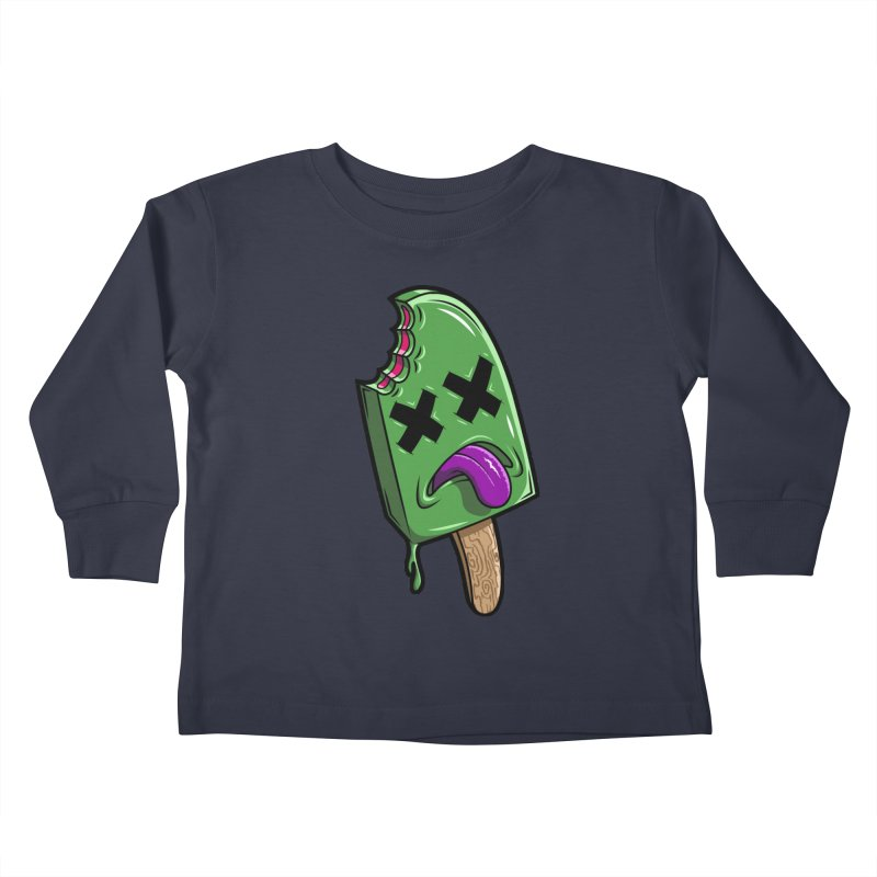 Deadsicle Kids Toddler Longsleeve T-Shirt by inbrightestday's Artist Shop