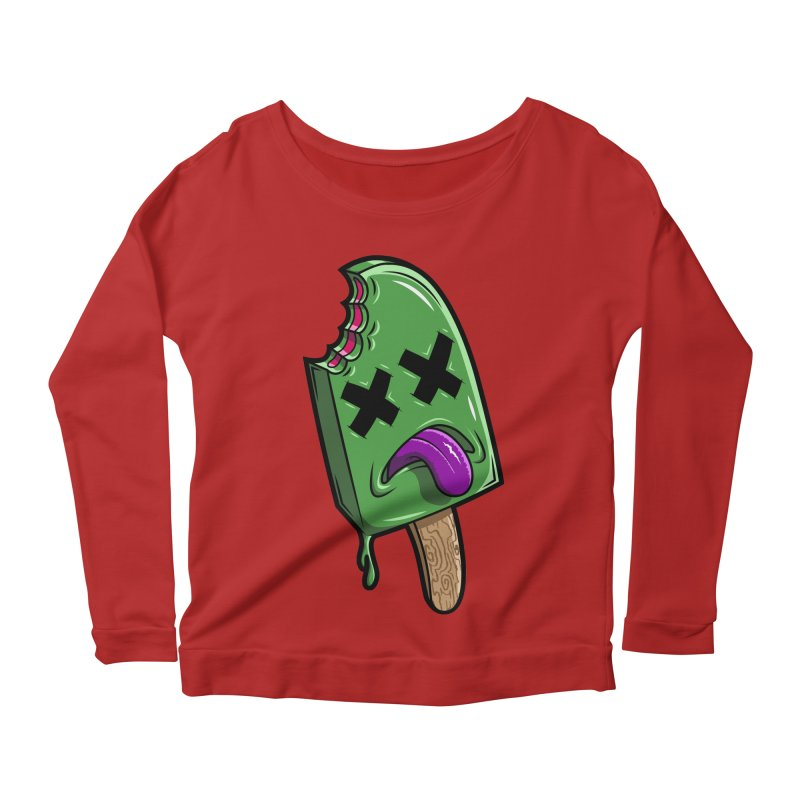 Deadsicle Women's Longsleeve Scoopneck  by inbrightestday's Artist Shop