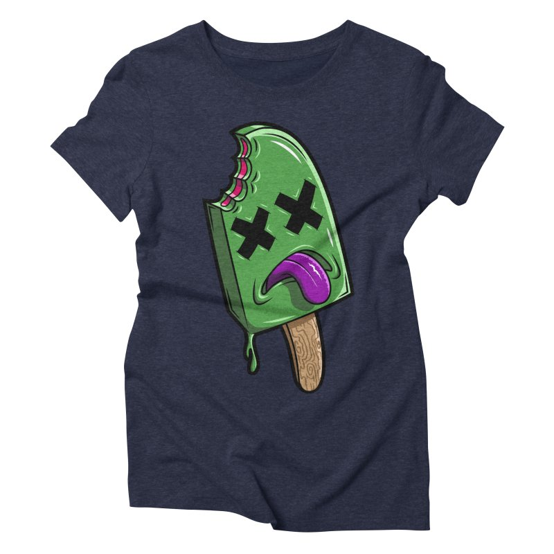 Deadsicle Women's Triblend T-shirt by inbrightestday's Artist Shop