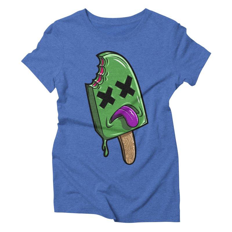 Deadsicle Women's Triblend T-Shirt by inbrightestday's Artist Shop