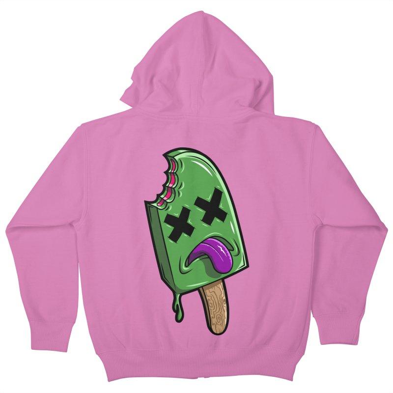 Deadsicle Kids Zip-Up Hoody by inbrightestday's Artist Shop