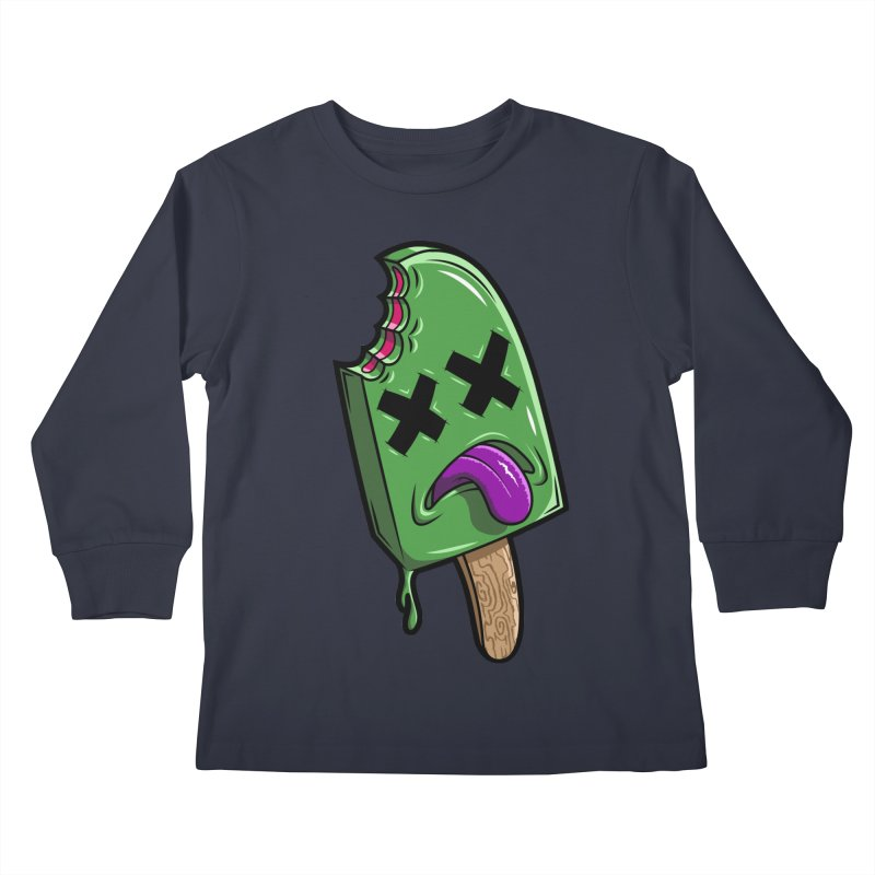 Deadsicle Kids Longsleeve T-Shirt by inbrightestday's Artist Shop