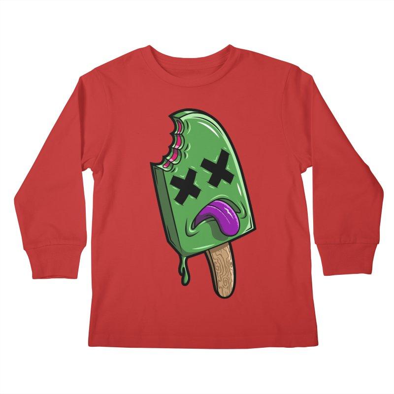Deadsicle Kids Longsleeve T-Shirt by inbrightestday's Artist Shop