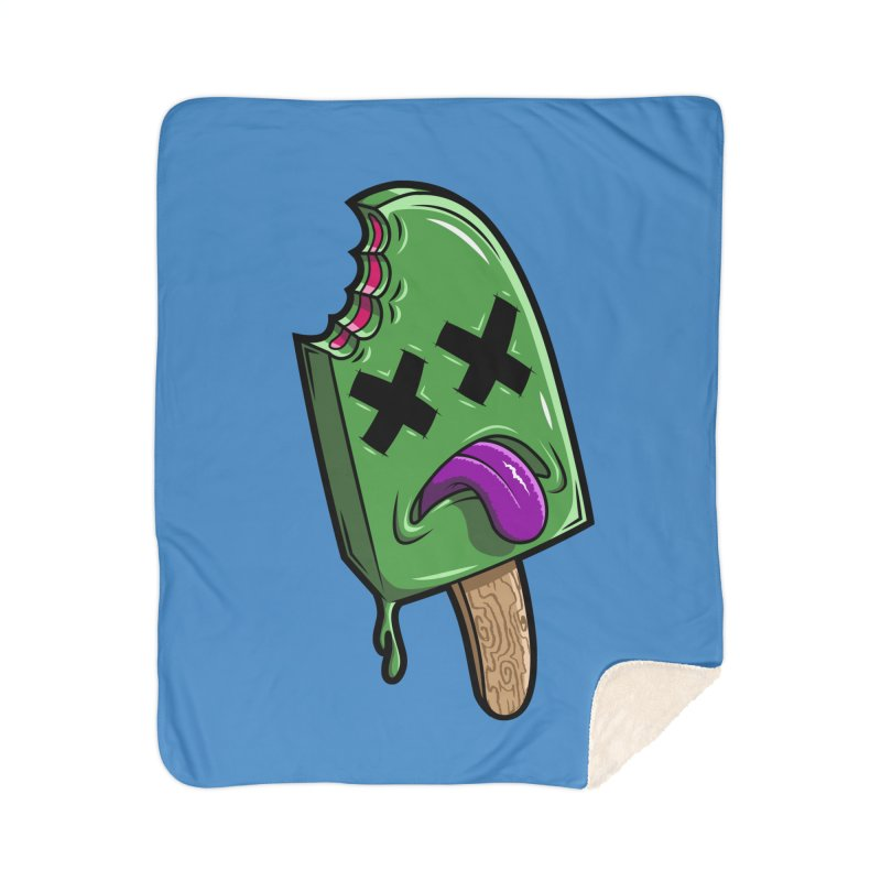 Deadsicle Home Sherpa Blanket Blanket by inbrightestday's Artist Shop