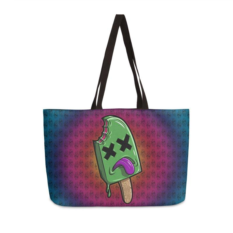 Deadsicle Accessories Weekender Bag Bag by inbrightestday's Artist Shop
