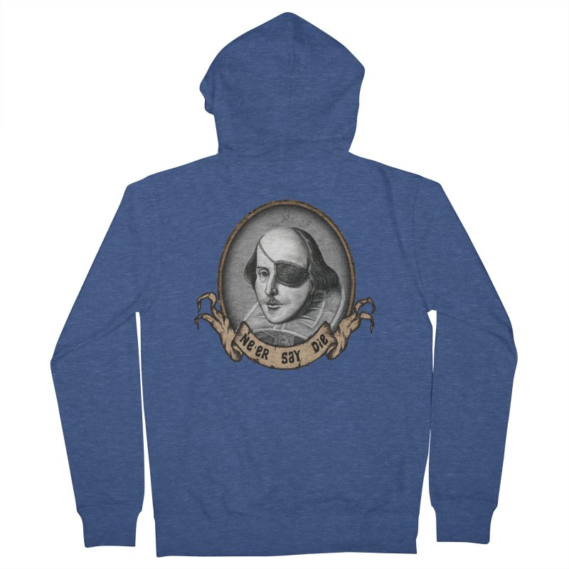 One Eyed Willy Women's Zip-Up Hoody by inbrightestday's Artist Shop