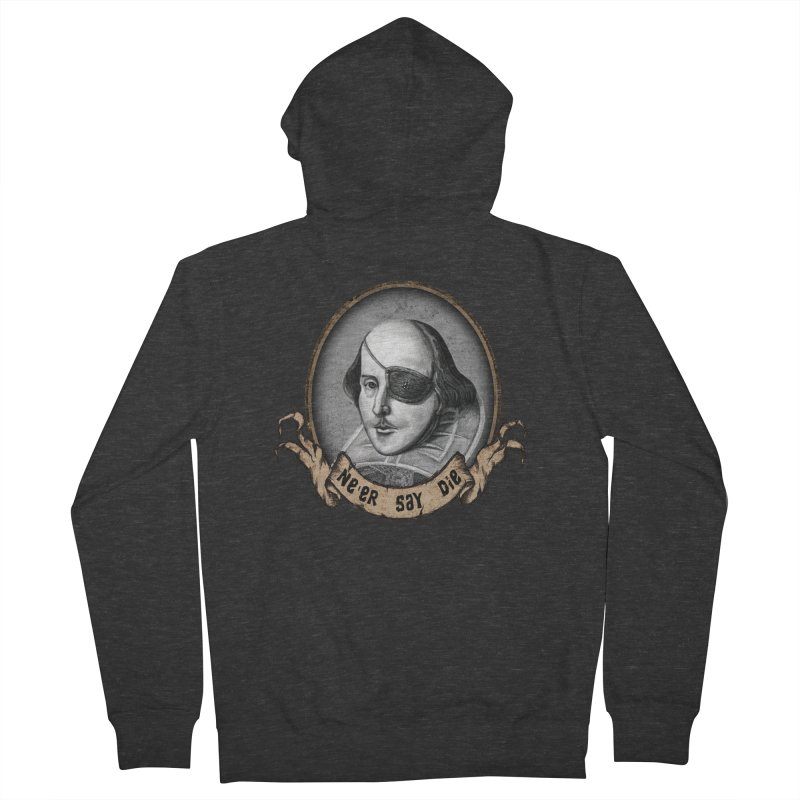 One Eyed Willy Men's Zip-Up Hoody by inbrightestday's Artist Shop