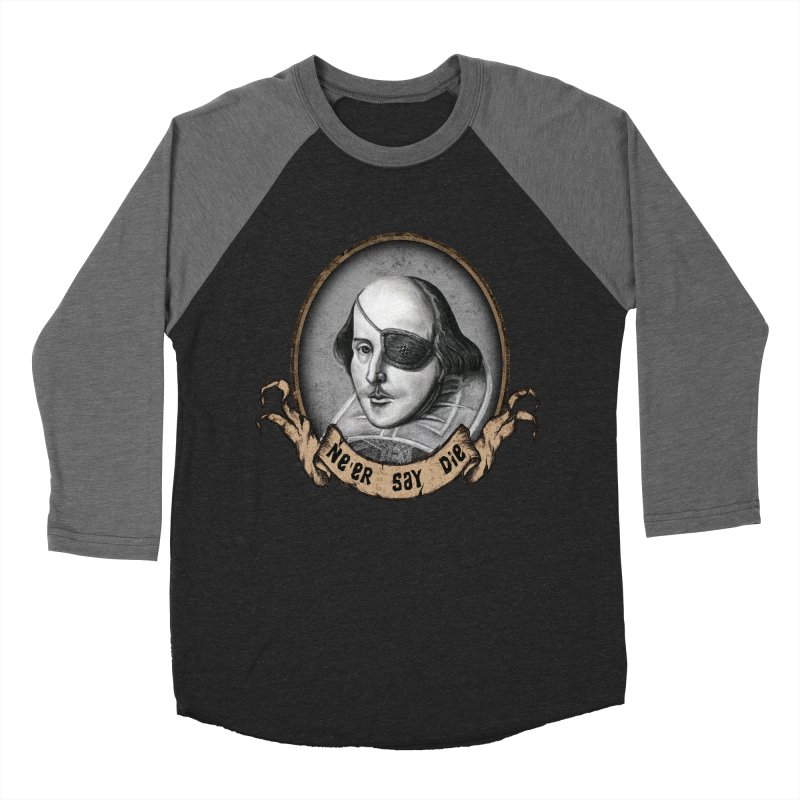 One Eyed Willy Men's Baseball Triblend T-Shirt by inbrightestday's Artist Shop