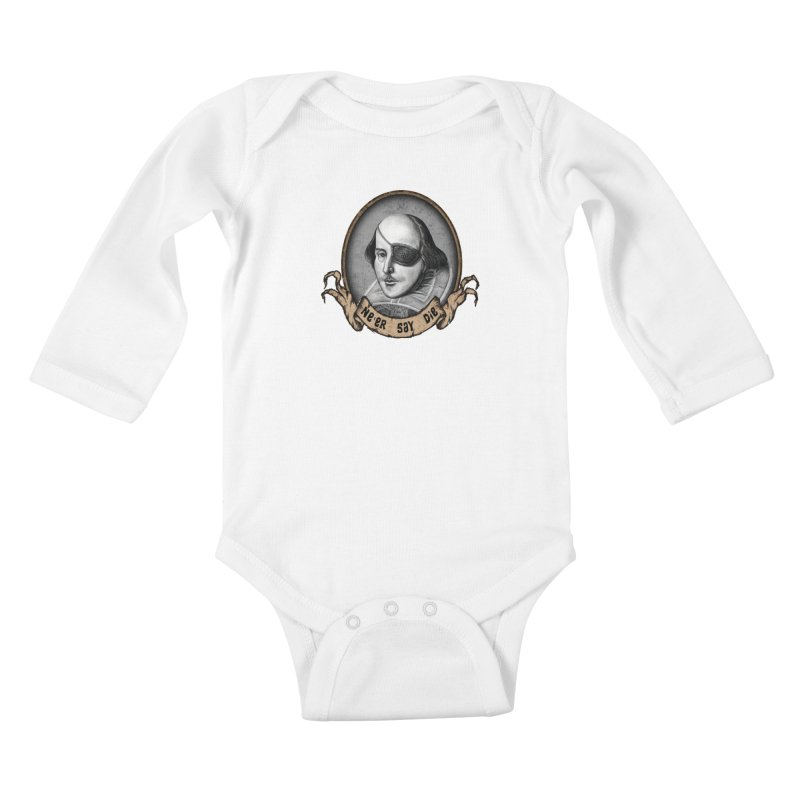 One Eyed Willy Kids Baby Longsleeve Bodysuit by inbrightestday's Artist Shop