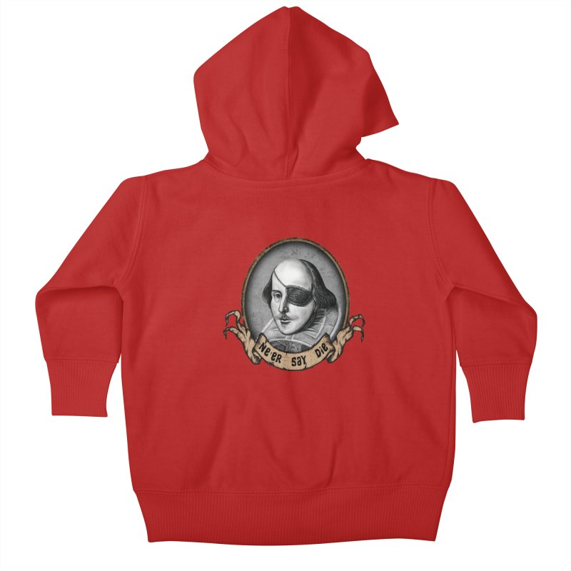 One Eyed Willy Kids Baby Zip-Up Hoody by inbrightestday's Artist Shop