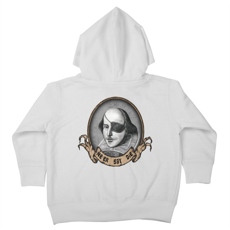 One Eyed Willy Kids Toddler Zip-Up Hoody by inbrightestday's Artist Shop