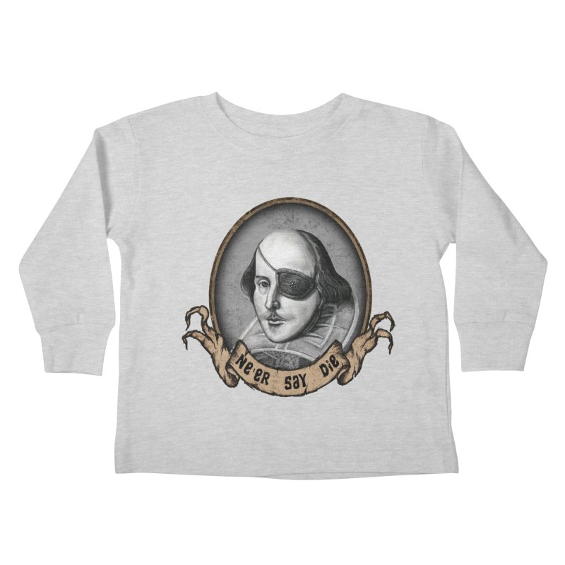 One Eyed Willy Kids Toddler Longsleeve T-Shirt by inbrightestday's Artist Shop