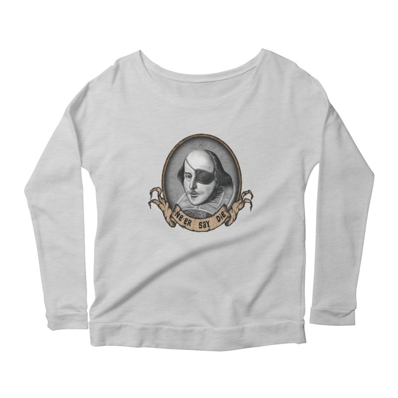 One Eyed Willy Women's Longsleeve Scoopneck  by inbrightestday's Artist Shop