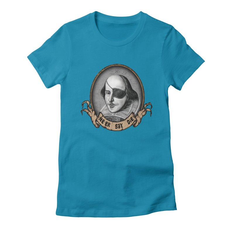 One Eyed Willy Women's Fitted T-Shirt by inbrightestday's Artist Shop