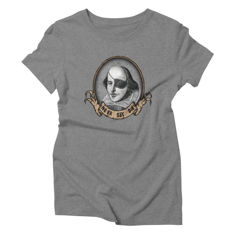 One Eyed Willy Women's Triblend T-Shirt by inbrightestday's Artist Shop