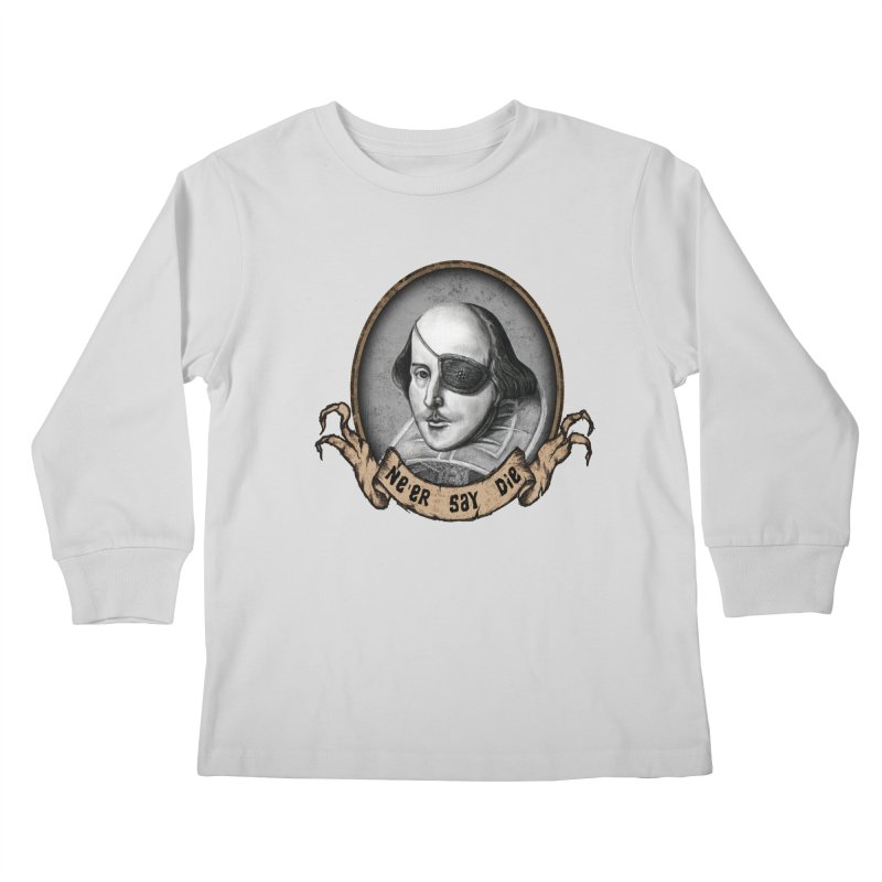 One Eyed Willy Kids Longsleeve T-Shirt by inbrightestday's Artist Shop
