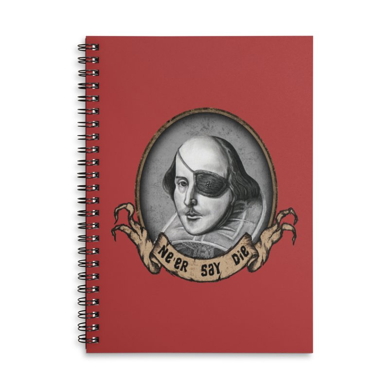 One Eyed Willy Accessories Lined Spiral Notebook by inbrightestday's Artist Shop