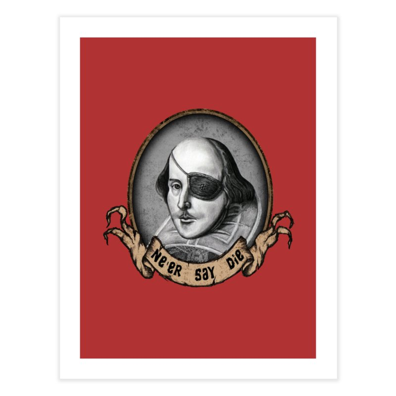 One Eyed Willy Home Fine Art Print by inbrightestday's Artist Shop
