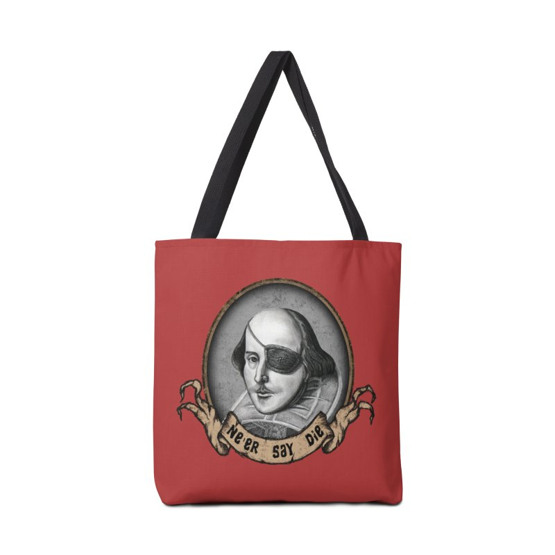 One Eyed Willy Accessories Bag by inbrightestday's Artist Shop