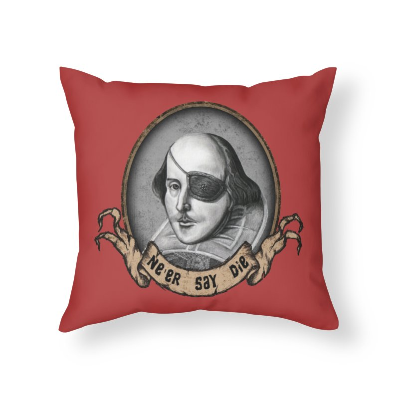 One Eyed Willy Home Throw Pillow by inbrightestday's Artist Shop