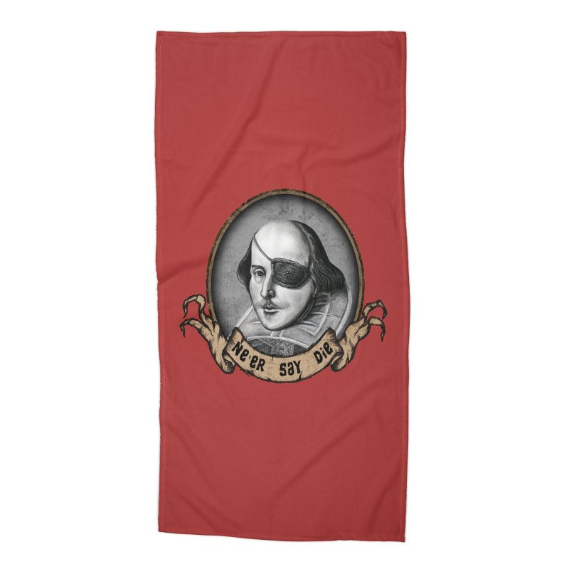 One Eyed Willy Accessories Beach Towel by inbrightestday's Artist Shop