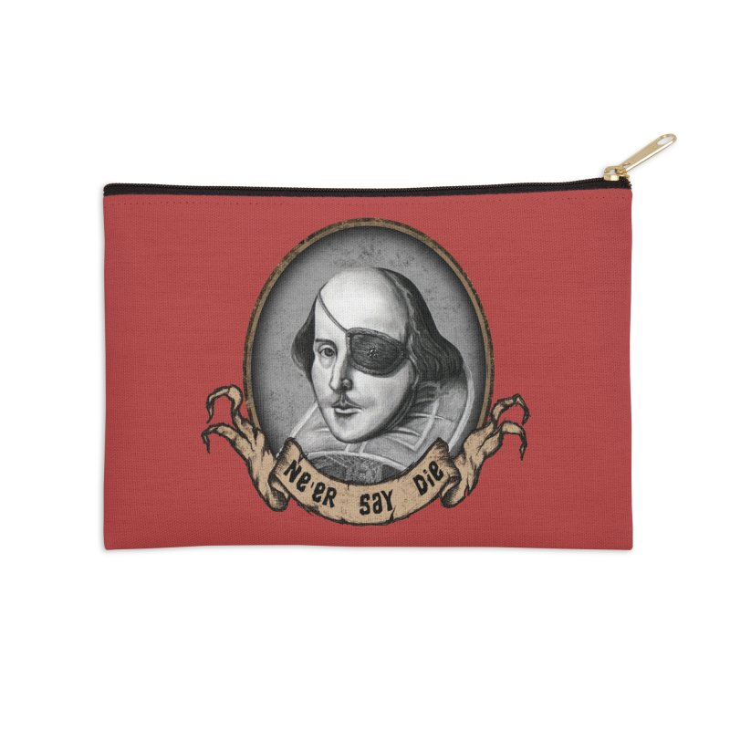 One Eyed Willy Accessories Zip Pouch by inbrightestday's Artist Shop