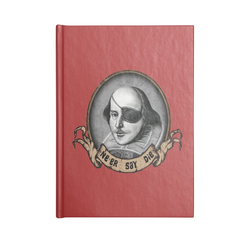 One Eyed Willy Accessories Blank Journal Notebook by inbrightestday's Artist Shop