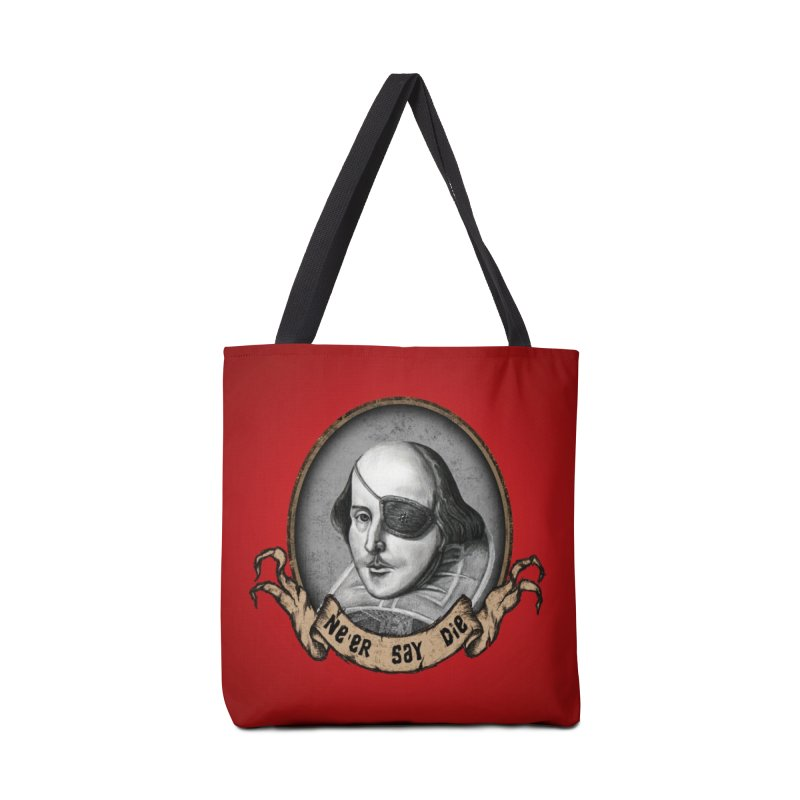 One Eyed Willy Accessories Tote Bag Bag by inbrightestday's Artist Shop