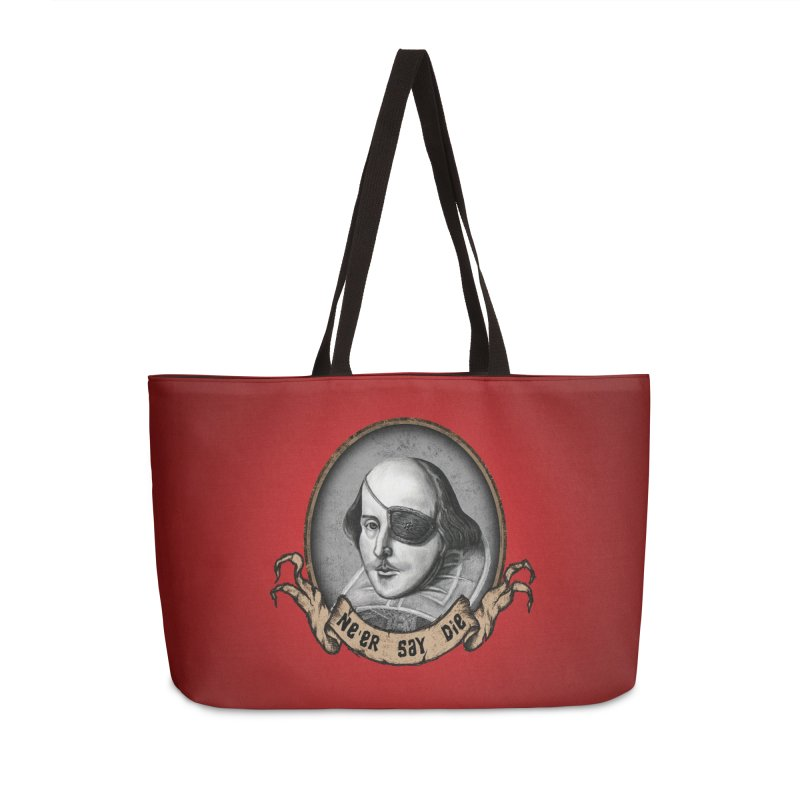 One Eyed Willy Accessories Weekender Bag Bag by inbrightestday's Artist Shop