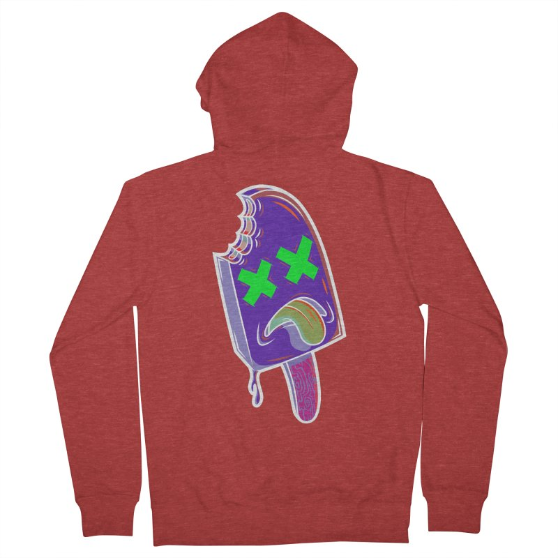 UnDeadsicle Men's Zip-Up Hoody by inbrightestday's Artist Shop