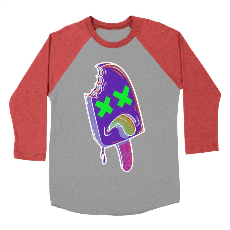 UnDeadsicle Women's Baseball Triblend T-Shirt by inbrightestday's Artist Shop