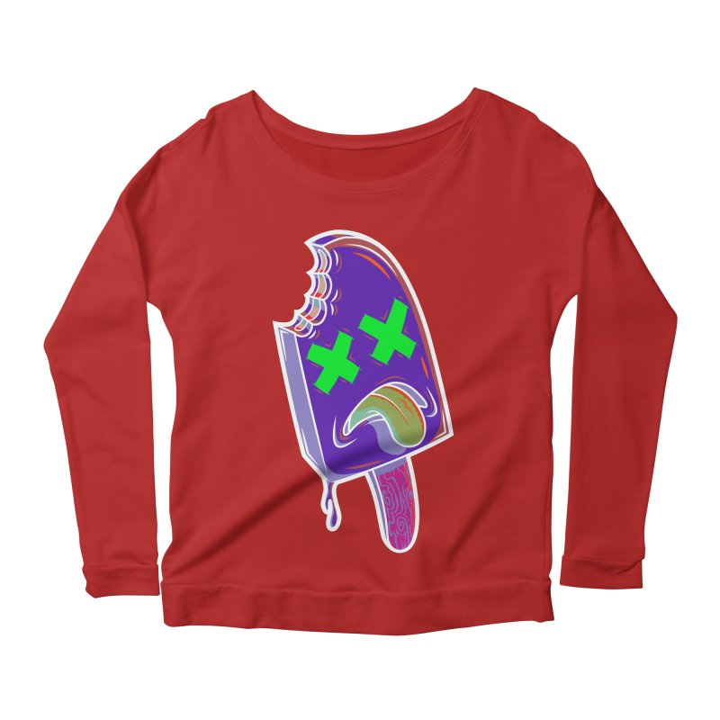 UnDeadsicle Women's Longsleeve Scoopneck  by inbrightestday's Artist Shop