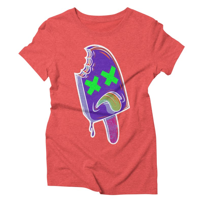 UnDeadsicle Women's Triblend T-shirt by inbrightestday's Artist Shop